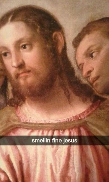 jesus snapchat