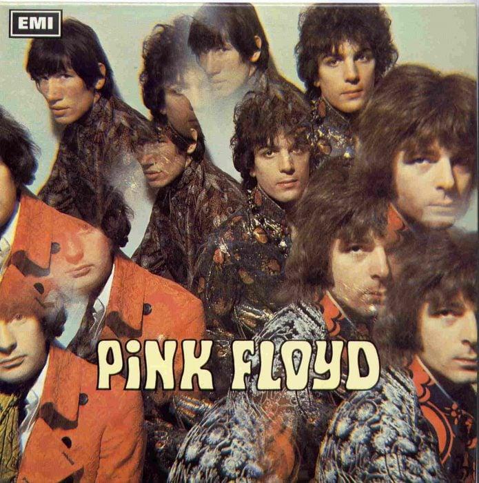 Portada del primero disco de Pink Floyd