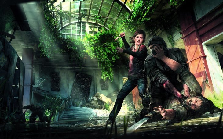 Escena de The Last of Us