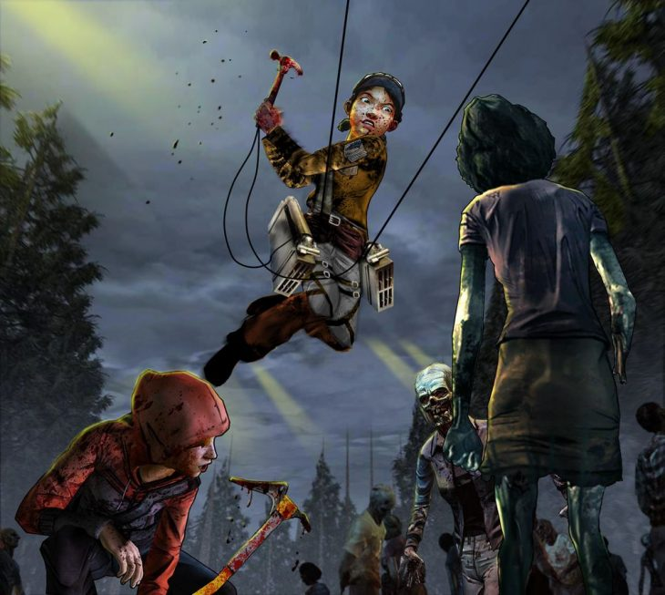 Escena de Telltale's The Walking Dead