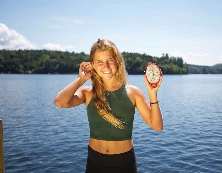 Alyse Bautigam vegana que no usa desodorante