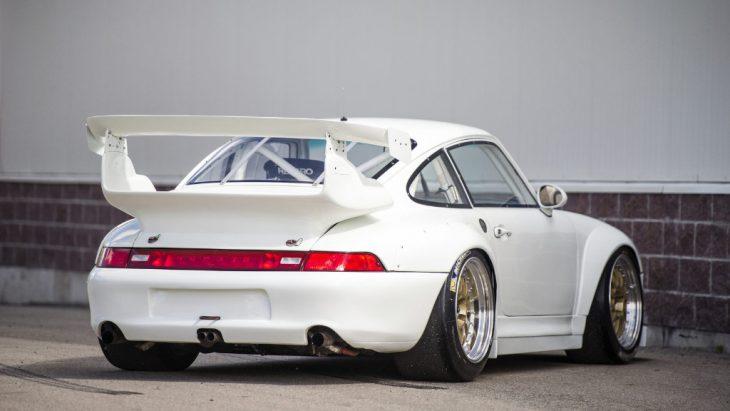 Alerón del Porsche 911 GT2 Evo