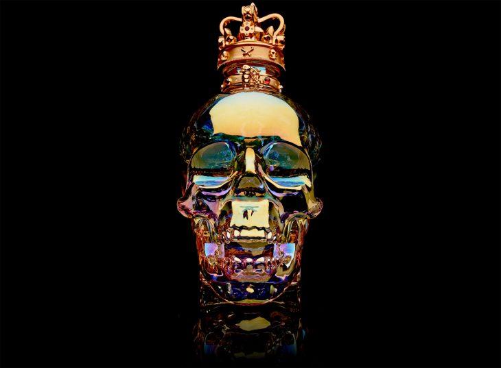 Vodka Aurora Magnum de cristal y joyas