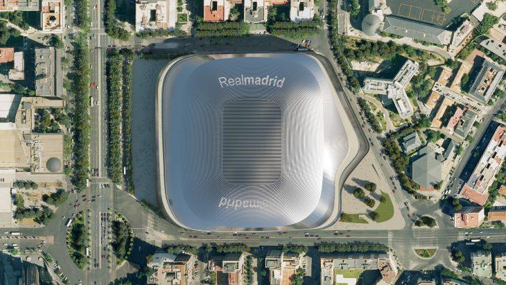 Nuevo estadio Santiago Bernabéu