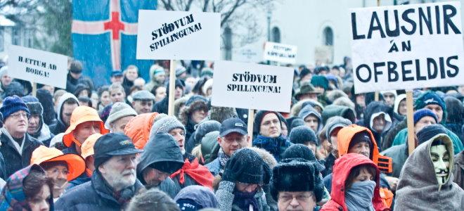 islandia protests