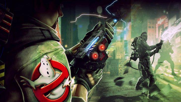Escena de Ghostbusters Sanctum of Slime