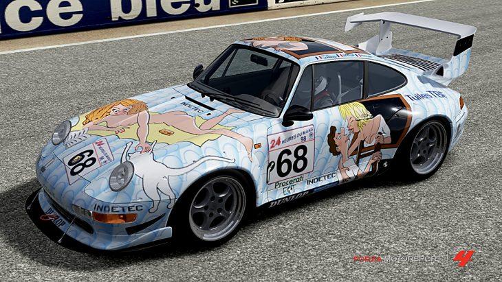 Porsche 911 GT2 Evo para carreras