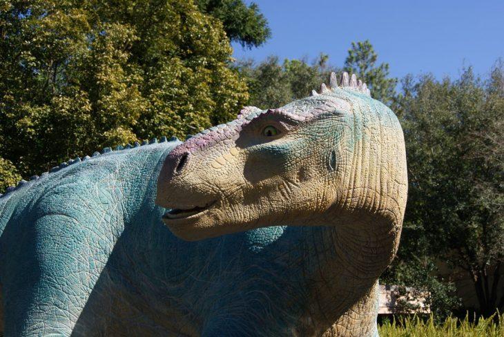 Iguanodon de la película de Disney