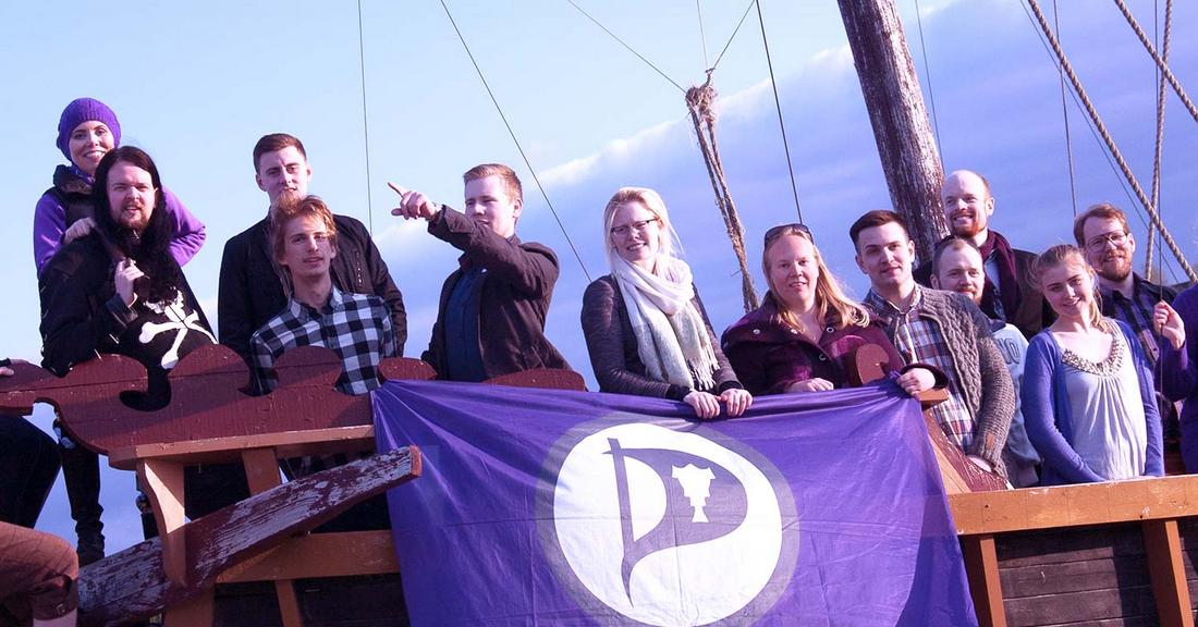 El partido político Pirata ganará las elecciones en Islandia