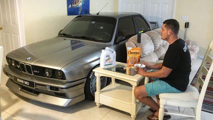 carro en casa bmw