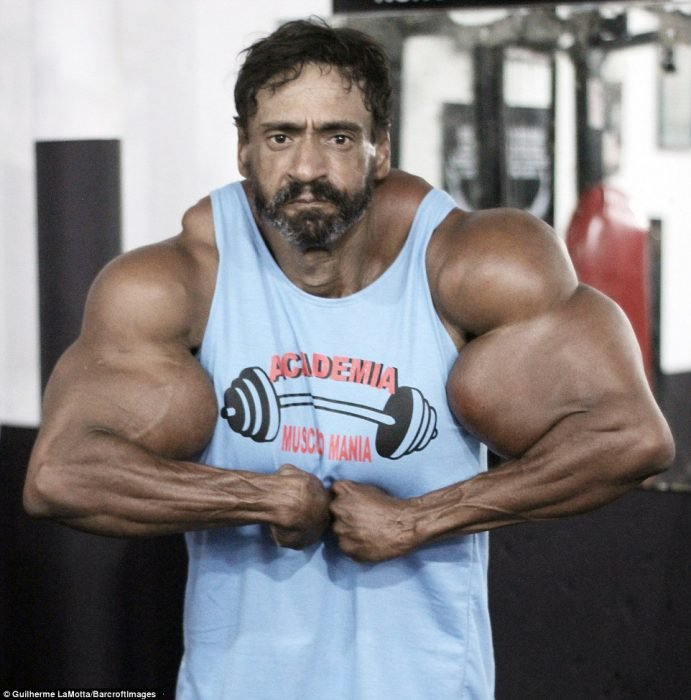 Vadir Segato, el Hulk brasileño