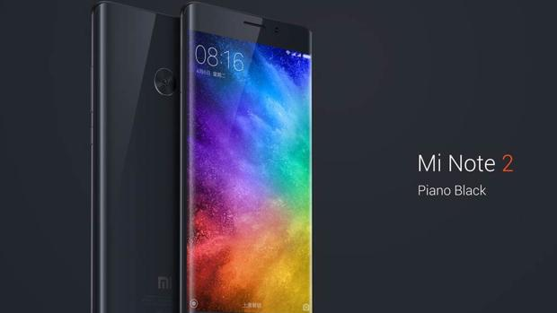 Xiaomi Mi Note 2 Piano Black