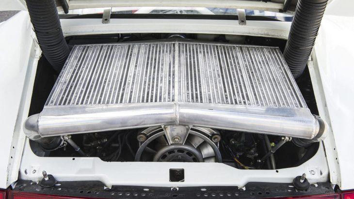 Motor del Porsche 911 GT2 Evo