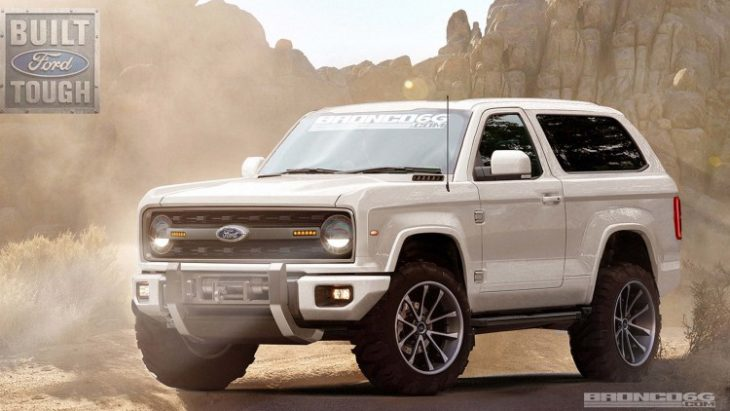 Probable Ford Bronco 2017