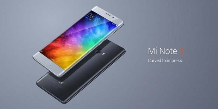 Xiaomi Mi Note 2 Piano Black y Silver