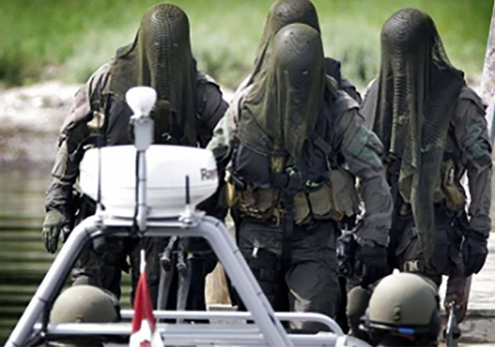 dinamarca Fuerzas especiales