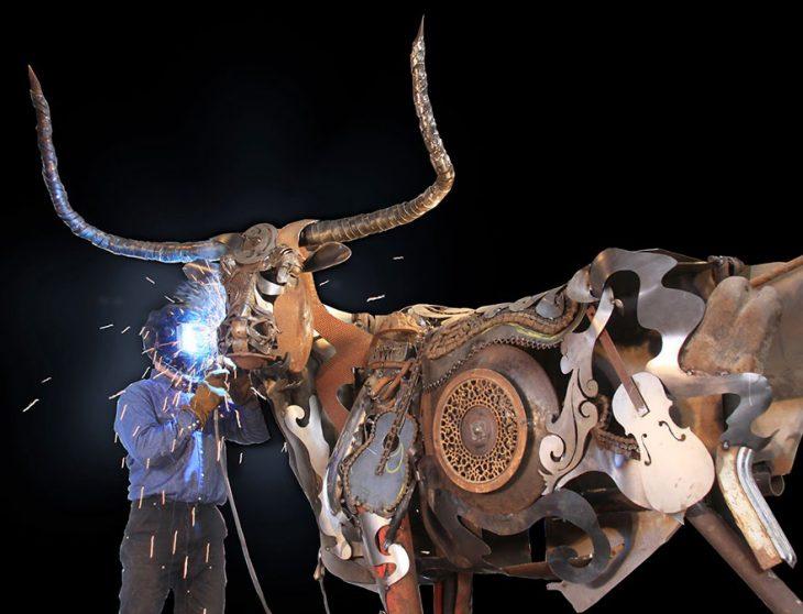 vaquero escultor