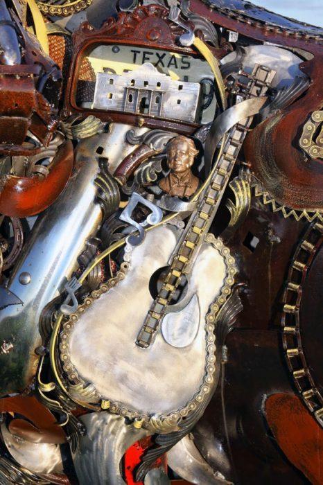 guitarr escultura