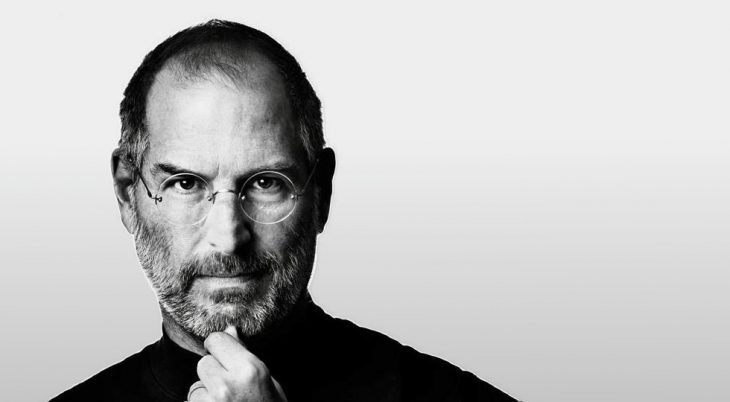 Steve Jobs en blanco y negro