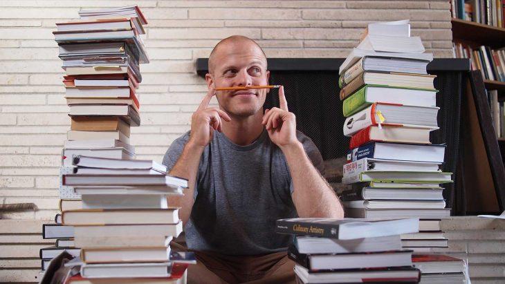 Timothy Ferris entre libros