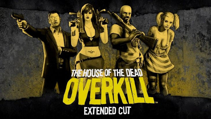 Cartel para The House of the Dead Overkill Extended Cut