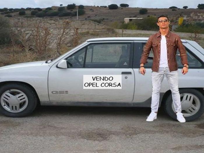ronaldo carro opel