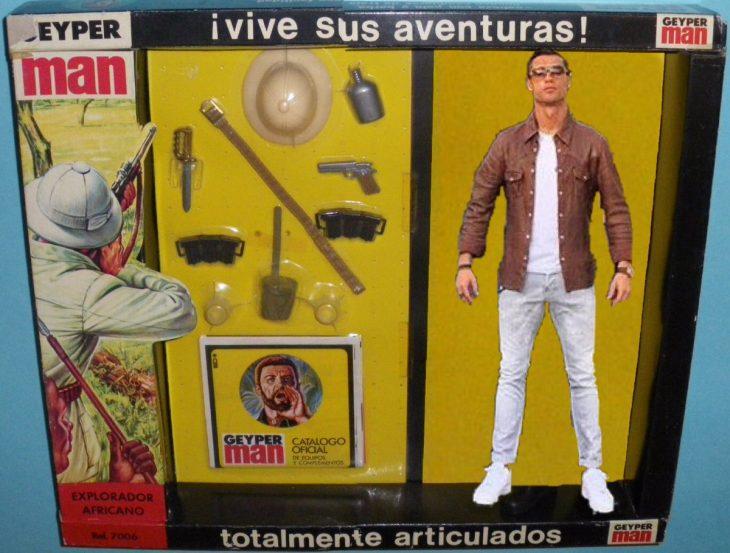 ronaldo juguete