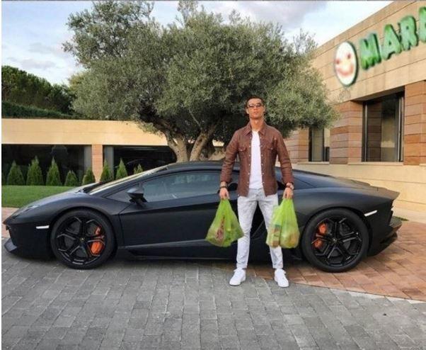 compras ronaldo carro