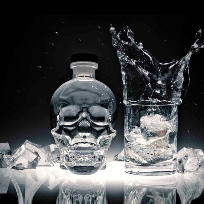 Vodka Aurora Magnum de cristal