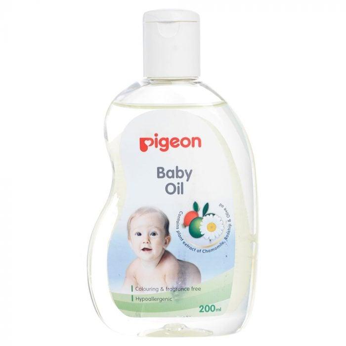 Aceite de bebé