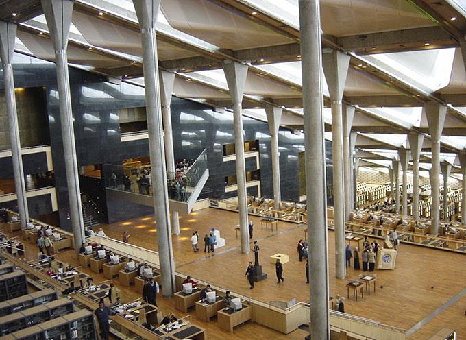 Biblioteca Alejandrina, Alejandría