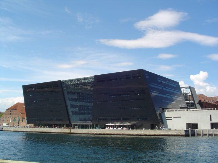 Biblioteca Real de Dinamarca, en Copenhague