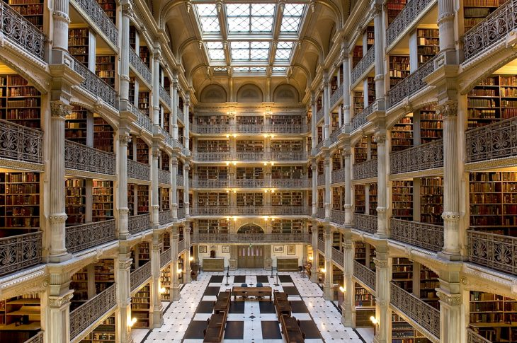 Biblioteca George Peabody, en Baltimore
