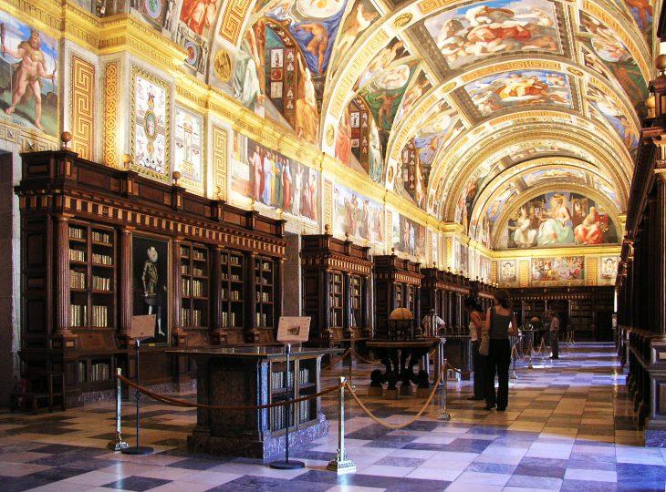 Real Biblioteca del Monasterio del Escorial, en Madrid