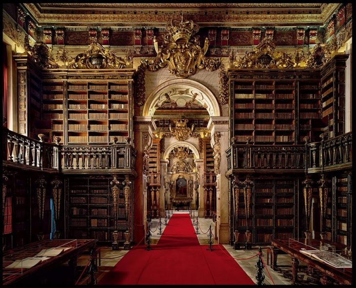 Biblioteca Joanina, en Coímbra