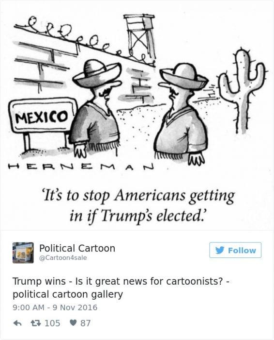 muro vs americanos