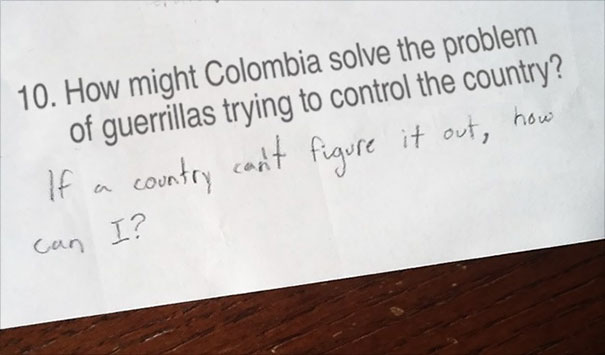 colombia examen
