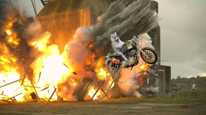 explosion husky PS