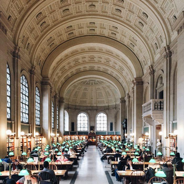 Biblioteca Pública de Boston, en Boston
