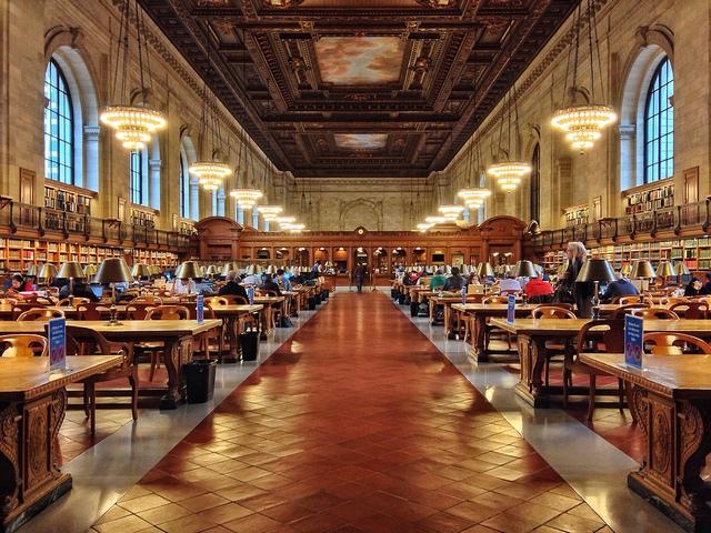 Biblioteca Pública de Nueva York, en Nueva York