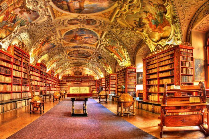 Biblioteca Strahav, en Praga
