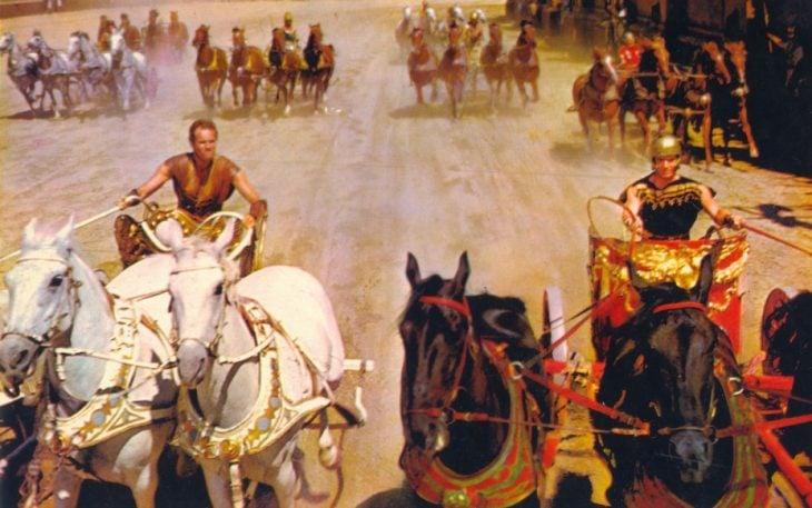 Carrera en Ben Hur