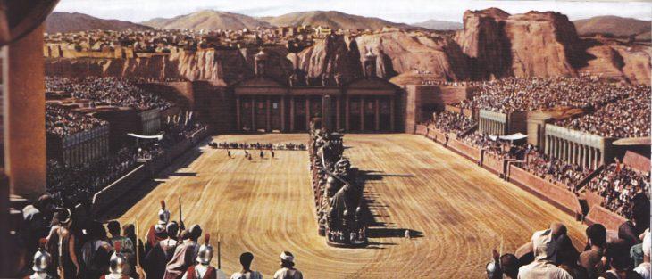 Escenario de Ben Hur