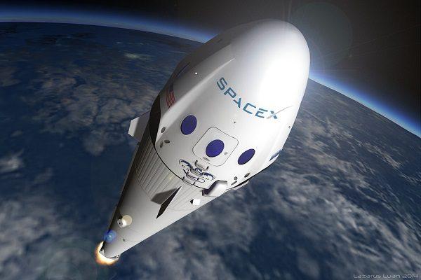 space x cohete