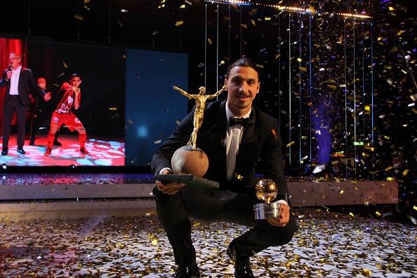 Ibrahimovic gana balón de oro en Suecia