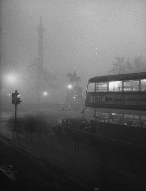 Londres Niebla 1952