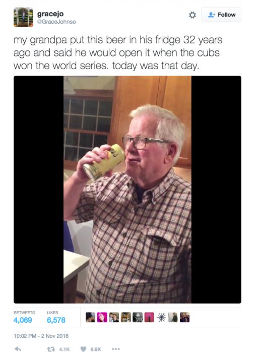 abuelo cerveza vieja