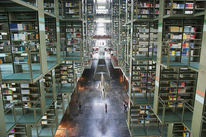 Biblioteca José Vasconcelos, en Ciudad de México