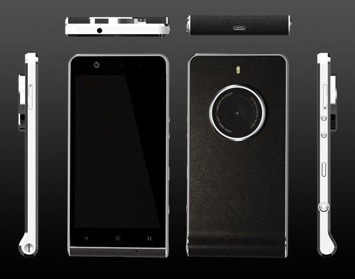 Teléfono inteligente Kodak Ektra