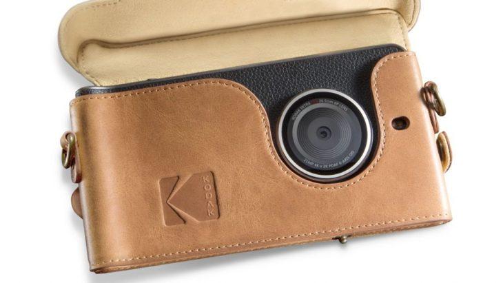 Cámara trasera del Kodak Ektra